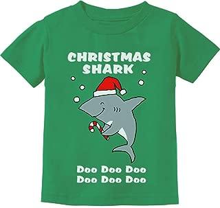 Christmas Shark Do Do Do Cute Toddler Kids T-Shirt