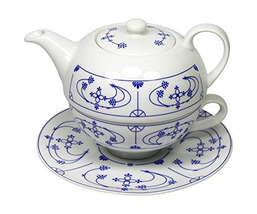 Cup und Mug Tea for One Chamore Indisch Blau 500ml