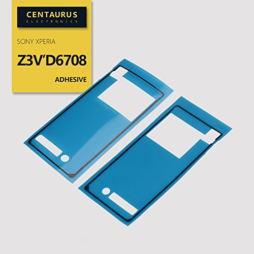 LCD Adhesive Film Battery Back Rear Sticker Tape Fit Replacement for Sony Xperia Z3v 4G LTE D6708