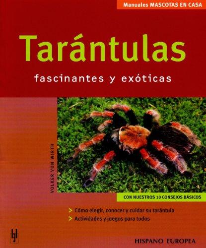 Tarántulas (Mascotas en casa)