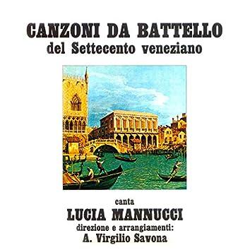 Canzone da battello del settecento veneziano