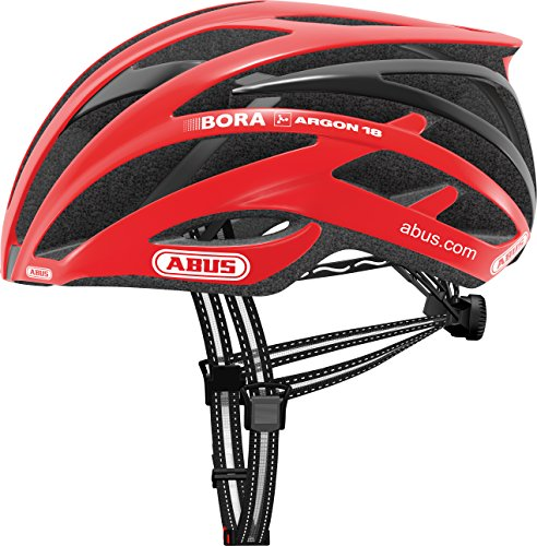 Abus Tec-Tical Pro 2.0–Casco para Bicicleta, Unisex, Color Rojo, tamaño Medium
