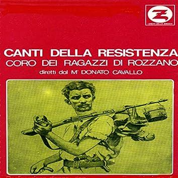 Canti della resistenza (Direttore M° Donato Cavallo)