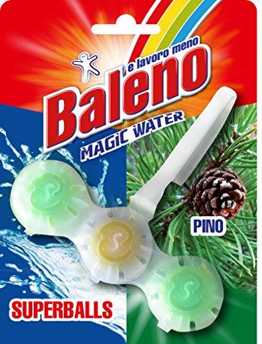 BALENO E LAVORO MENO Magic Water Superballs - Set da 20 Confezioni di tavolette WC Superballs da 40 gr. cad. assortite nelle profumazioni Pino e Fiori Direttamente dal Produttore !!