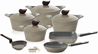 Neoflam Korean Granite Cookware Set, 11pcs