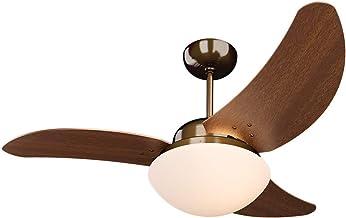 Ventilador Solano 110/127V 3P, Tron, Cobreado/Verniz