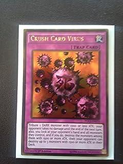 YU-GI-OH! - Crush Card Virus (PGL2-EN070) - Premium Gold: Return of The Bling - 1st Edition - Gold Rare