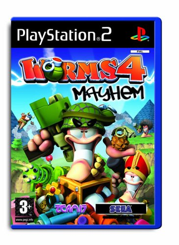 Worms 4: Mayhem (PS2)