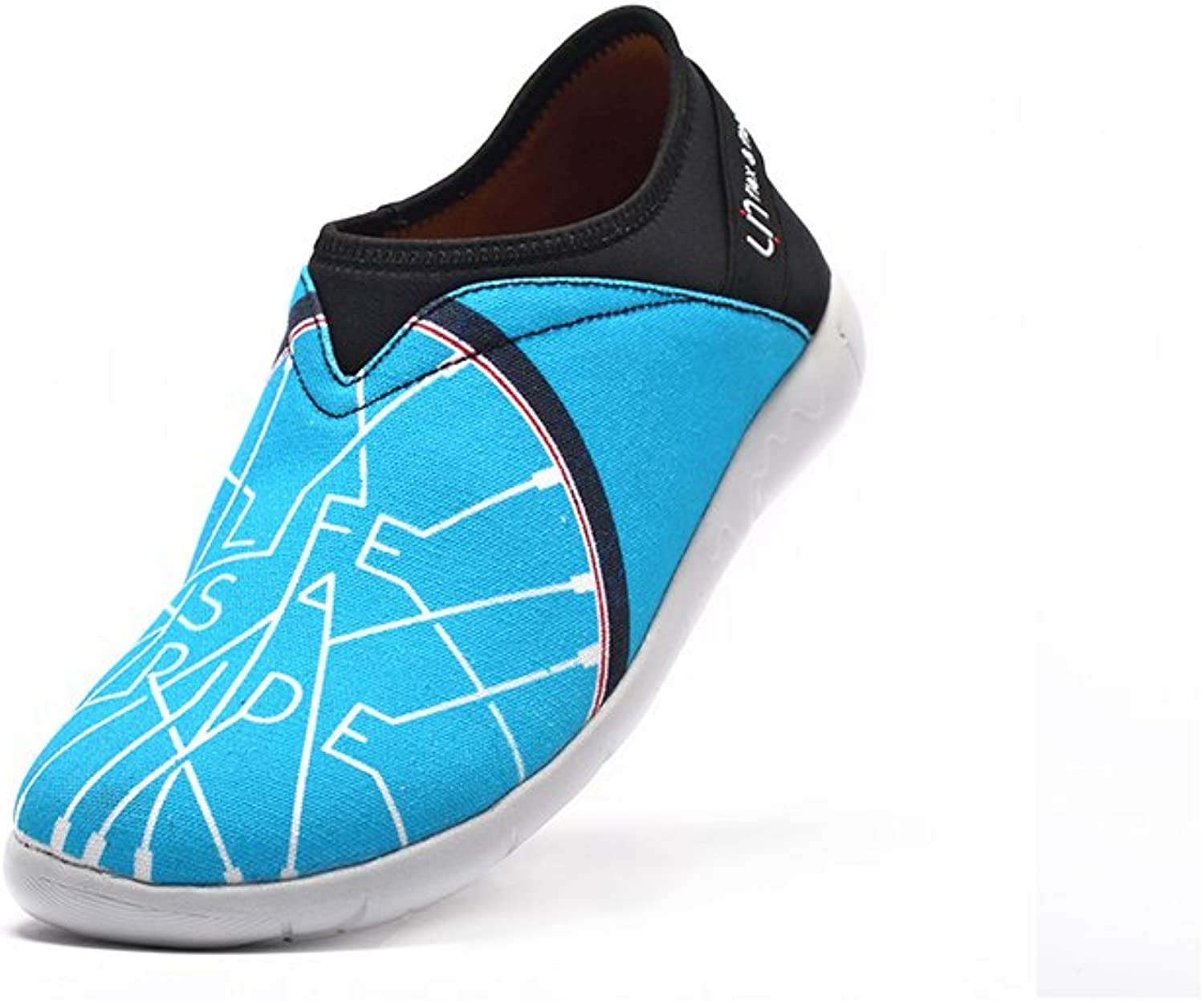 UIN Women's Life Ride Canvas Breathable Sneaker bluee