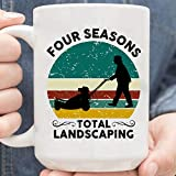 Four Seasons Total Landscaping Trump Coffee Mug
