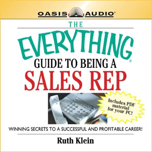 The Everything Guide to Being a Sales Rep Book audiobook cover art