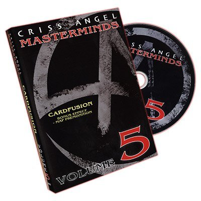 Masterminds (Card Fusion) Vol. 5 by Criss Angel - DVD