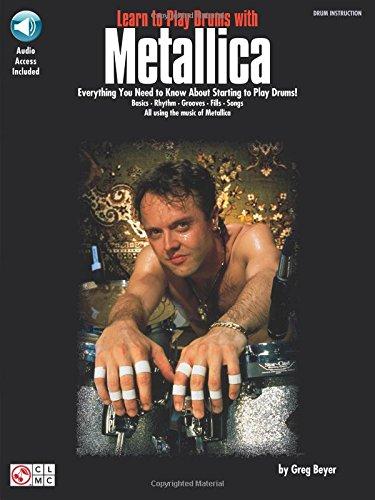 Metallica Learn To Play Drums With Book/CD: Noten, CD für Schlagzeug