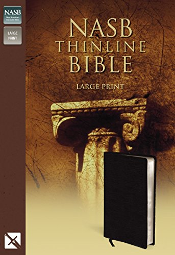 Compare Textbook Prices for NASB Thinline Bible, Large Print  ISBN 9780310917977 by Zondervan