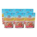 Glebe Farm, Granola de avena y fresa sin gluten - 6 X 325 gramos, saludable, rica en fibra
