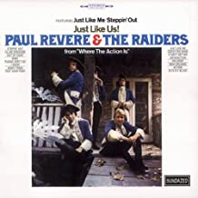 paul revere and the raiders just like us