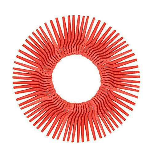 Chuancheng 120 Cuchillas de plástico de Repuesto para Cortador de césped Florabest