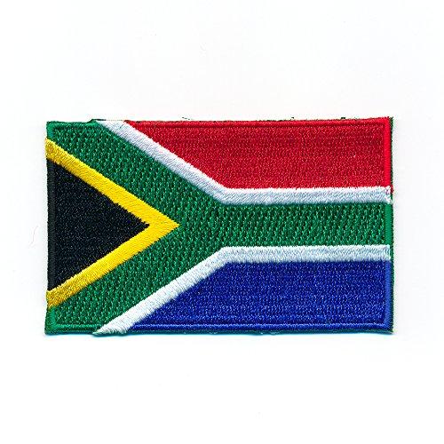 60 x 35 mm Südafrika Flagge Flag Pretoria Kapstadt Patch Aufnäher Aufbügler 1016 B