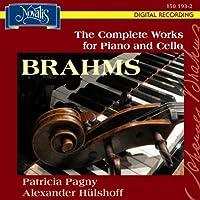 ブラームス:チェロとピアノのための作品全集 ヒュルショフ、パニー
