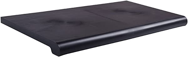 13 X 48 Injection Molded Bullnose Shelves Black Color Black Material Injection Molded Plastic Dimensions 13 W X 48 L Front Lip Covers Shelf Bracket Use With Existing 12 Shelf Brackets The 13 W X 48 L Injection Molded Plastic Bullnose Shelve Has Enough Space To Showcase Bulky Products And Large Displays These Shelves Have A Contemporary Design And Resemble A Custom Made Laminated Shelf The Injection Molded Bullnose Shelve Fits Perfect On 12 Brackets And Significantly Increases The Amount Of Space Available On Your Slatwall Each Shelf Is A Sleek Black Color Throughout So It Won T Fade Or Wear Off