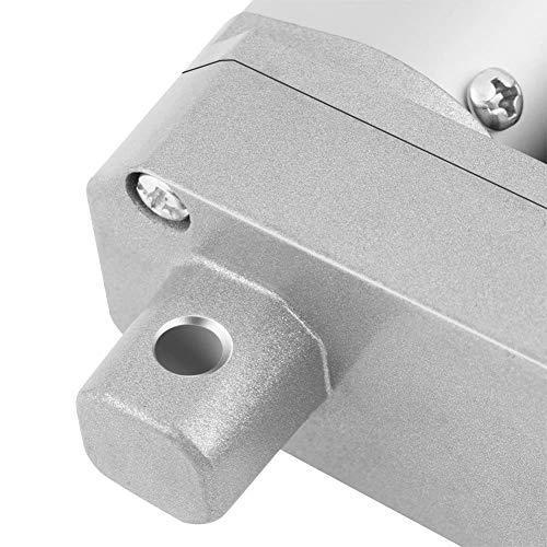 Accionador lineal para usos gravosos, diseño sensible estable de bajo ruido, actuador lineal de 12 V 19,9 x 3 x 1,6 pulgadas, plata maquinaria agrícola industria ingeniería