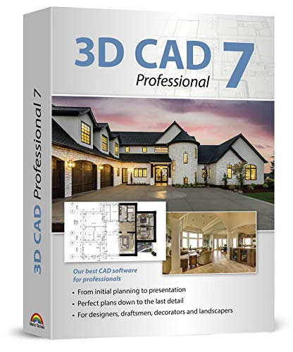 3D CAD 7 Professional - Plan & design buildings from initial rough sketches to the finished...