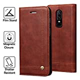 OnePlus 6 Case, REAL-EAGLE Oneplus 6 Wallet Case,OnePlus 6...