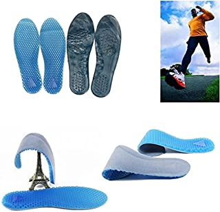 STCorps7 1 Pair Damping Shoe Insole Orthotic Arch Support Massaging Silicone Gel Sports Pad