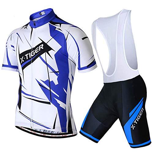 Maillots Ciclismo Respirable T-Short Ropa Jersey Equipacion Conjunto Cómodo Verano Bici Mallas...