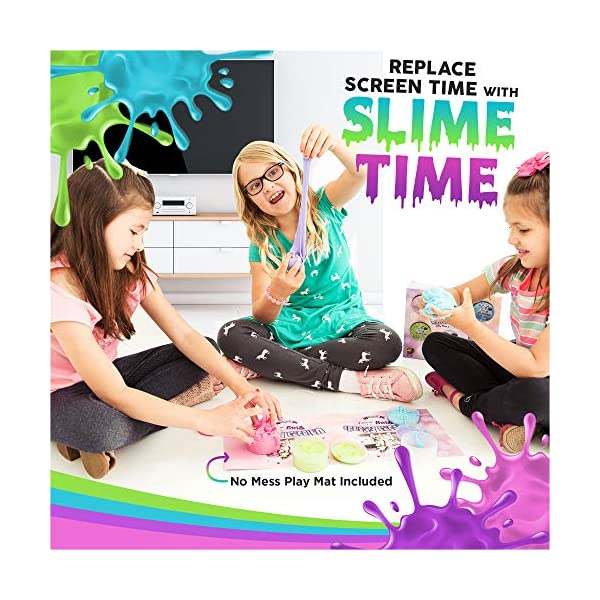Alpine Summit Unicorn Slime Kit Supplies Stuff for Girls Making Slime [Everything in One Box] Includes Unicorn Backpack… 3