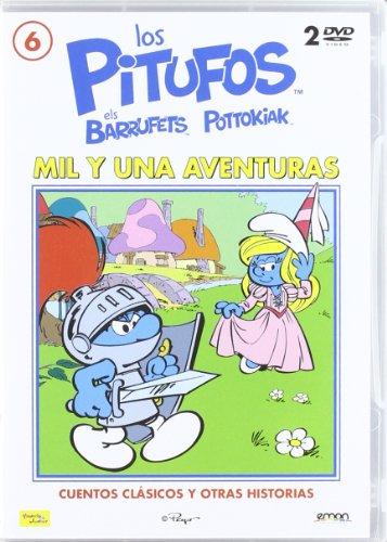 Los Pitufos Mil Y Una Aventuras (Import Movie) (European Format - Zone 2) (2012) Varios