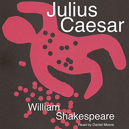 William Shakespeare's Julius Caesar audiobook cover art