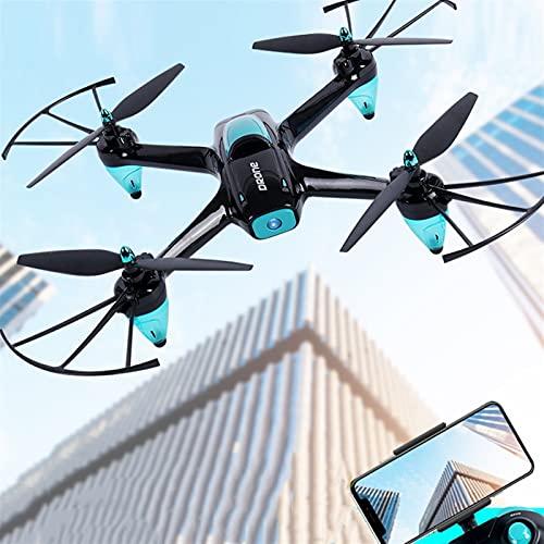 2.4GHz Gyro de 6 Ejes RC Drone con 1080p HD Cámara FPV Video en Vivo RC Quadcopter con una Llave de Inicio/Aterrizaje Modo sin Cabeza 6 años de Edad Mayor para Adultos Infantil Juegos de Interior Lo