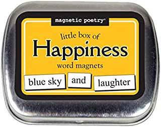 Magnetic Poetry Little Box Of Happiness Words For Refrigerator Write Poems And Letters On The Fridge