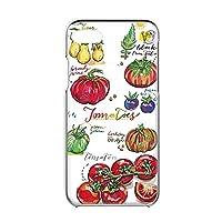 Google Pixel 3a G020D 用 スマホケース ハードケース [オーガニック・トマト Tomato] イラスト ベジタブル グーグル ピクセル スリーエー SoftBank SIMフリー すまほカバー 携帯ケース 携帯カバー [FFANY] garden_00x_h149@01