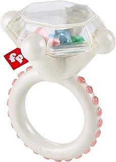 Fisher-Price Rock 'n Sonajero anillo mordedor para bebé, sonajero y juguete de dentición