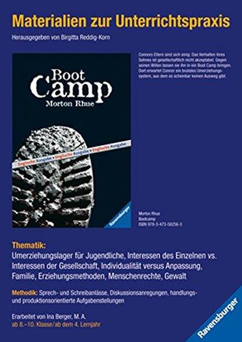 Materialien zur Unterrichtspraxis - Morton Rhue: Boot Camp (englische Ausgabe)