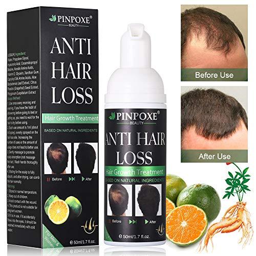 Haarwachstums, Anti Haarausfall, Haarserum,natürliche Kräuteressenz, Haar Faser für Männern und Frauen schnelles Haarwachstum, stärkt Haarwurzeln und fügt natürlichen Glanz 50ml…