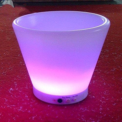 Wmshpeds Pleine couleur mobilier d'extérieur émettant de la lumière, la décoration intérieure, des pots émettant de la lumière LED, téléphone mobile fonctionnel mobilier lumineux App