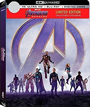 Avengers  Endgame NEW [Ltd SteelBook] 4K UHD + BLU-RAY +DIGITAL Pre-order AUGUST
