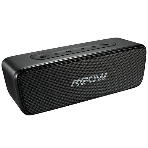 Außen Lautsprecher, Mpow R6 Bluetooth Lautsprecher 4.2, 360 ° Bass+ Bluetooth Musikbox, IPX7 wasserdichte Tragbare Lautsprecher, Drahtlose Lautsprecher mit integriertem Mikrofon, 24 Std Spielzeit