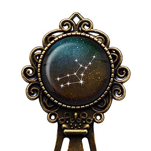 Zodiac Symbol Astrology Virgo Star Constellation Tierkreis Astrologie Jungfrau Lesezeichen