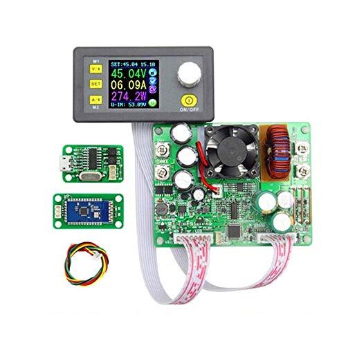 DPS5015 LCD voltímetro 50V 15A probador de voltaje de corriente de paso...