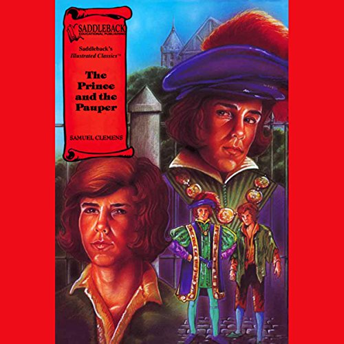 The Prince and the Pauper audiobook cover art
