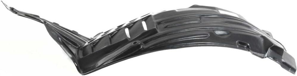 Evan-Fischer Splash Max 89% OFF Shield Front Great interest Left Side Liner Plastic Fender