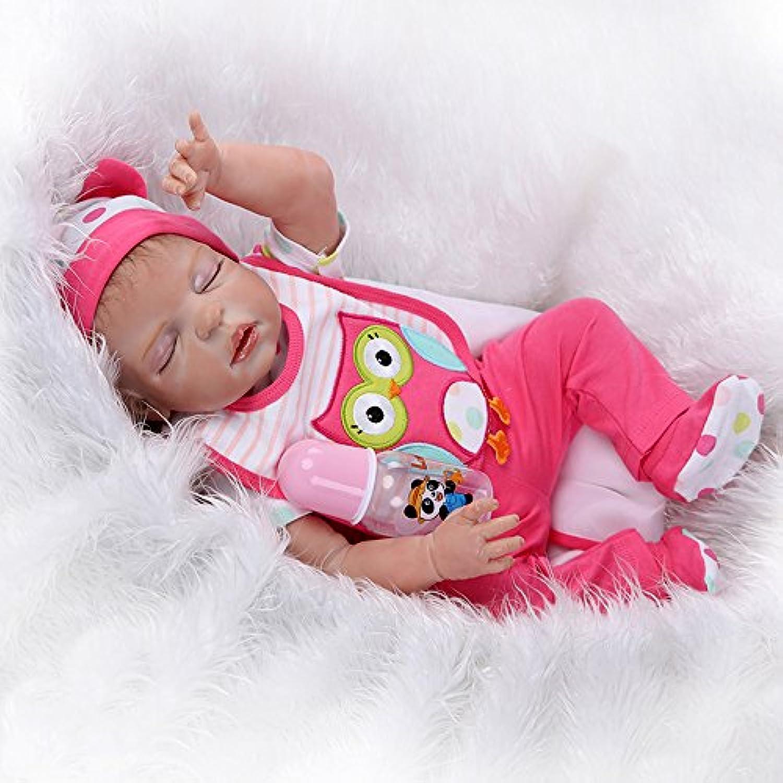 ICradle Reborn Dolls 18  Full Body Lebensechte Neugeboren Puppe Silikon Realistische Waschbar Mdchen Spielzeug Reborn Doll