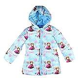 Dinsey Frozen - Abrigo - para niña Azul 3 años