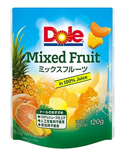 ドール フルーツパウチ ミックスフルーツ 120g 24個