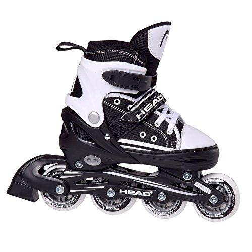 Head Kinder Inliner Skate Cool, schwarz, verstellbar Größe 30-33