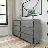 Plank+Beam Rustic Wood Dresser, Driftwood